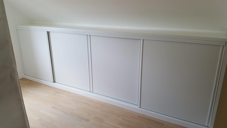 agencement combles et sous escalier alliance int rior beniste menuisier guerande la baule. Black Bedroom Furniture Sets. Home Design Ideas