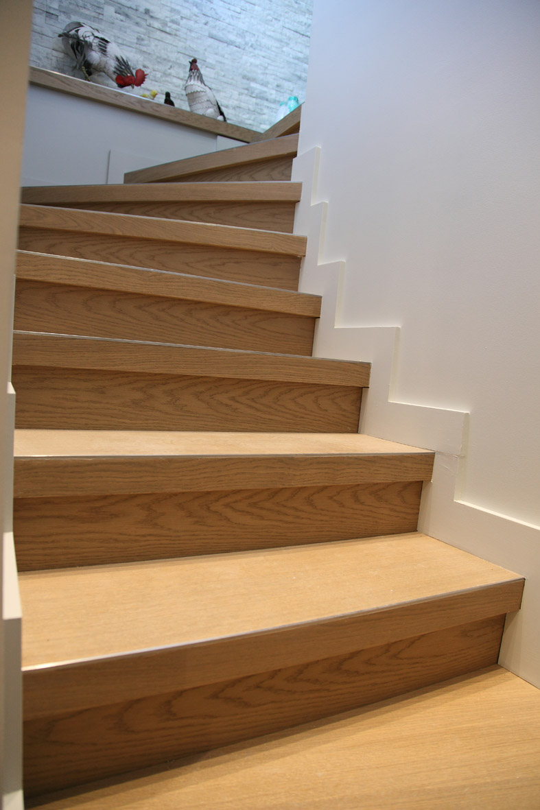Habillage d'escaliers